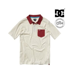DC × OTH CHOMPER POLO SHIRT (Desert Sand)|chapter-ex