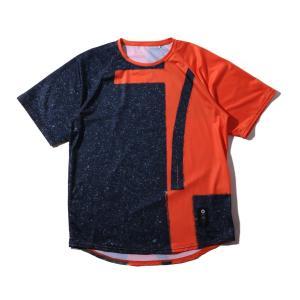 ボーラホリック ballaholic 半袖Tシャツ プレイグラウンド クール ティ (orange) chapter-ex