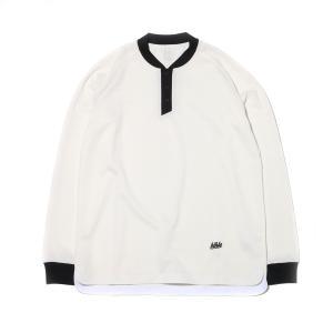 ボーラホリック ballaholic ロングTシャツ ロングスリーブポロ (WHITE) 17HO-I|chapter-ex