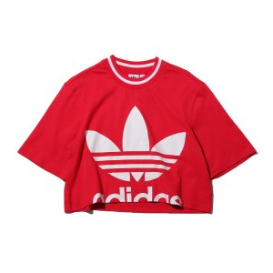 アディダス adidas レディースTシャツ クロップド ティー (ENERGY PINK) 19FW-I|chapter-ex