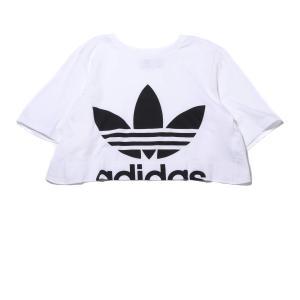 アディダス adidas レディーズTシャツ カットアウト ティー (WHITE) 19FW-I|chapter-ex