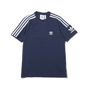 アディダス adidas Tシャツ ロックアップ ティー (COLLEAGE NAVY) 19FW-I|chapter-ex