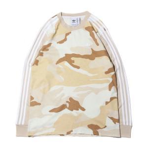 アディダス adidas 長袖Tシャツ カモ LS ティー (MULTI COLOR/CLEAR BROWN) 19FW-I|chapter-ex