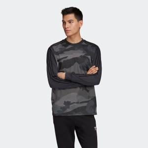 アディダス adidas 長袖Tシャツ カモ LS ティー (MULTI COLOR/CARBON) 19FW-I|chapter-ex