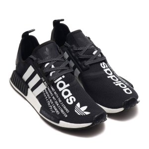 アディダス adidas スニーカー オリジナルス エヌエムディ_R1 アトモス (CORE BLACK/RUNNING WHITE/CORE BLACK) 18FW-S