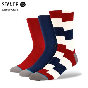 STANCE スタンス KINGS CLUB (RED)...