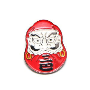 UBIQ IREZUMI PINS THREE TIDES TATTOO (DARUMA (MITSUDOMOE ) Designed by MUTSUO) 17FA-I|chapter-ex