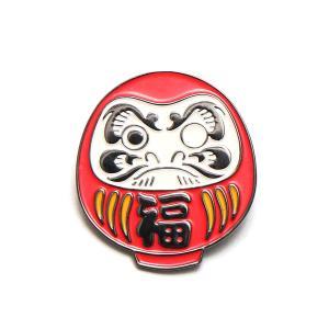 UBIQ IREZUMI PINS THREE TIDES TATTOO (DARUMA (FUKU) Designed by MUTSUO) 17FA-I|chapter-ex