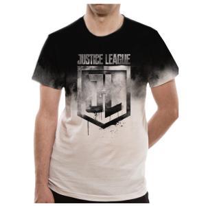 【海外直輸入】  JUSTICE LEAGUE JUMBO PRINT Tシャツ  素材: コットン...