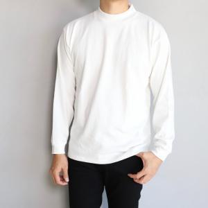 イレブンエイト カットソー ELEVEN EIGHT モックネック L/S Tシャツ WHITE ホワイト 2019秋冬新作|charger