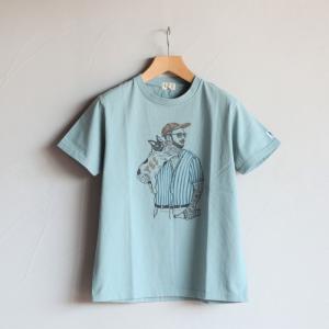 テス Tシャツ TES マリブスターTシャツ MALIBU STAR TEE  サックス SAX 2020春夏新作 charger