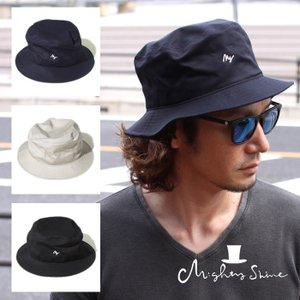 Mighty Shine マイティーシャイン 2018春夏新作 バケット ハット Bucket HAT  帽子 3色展開|charger