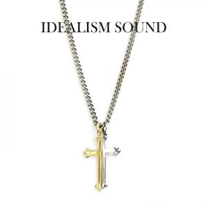 idealism sound ネックレス,イデアリズムサウンド ネックレス,idealism sound クロスネックレス,Silver K18yellow gold,通販,取扱い|charger
