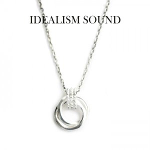 idealism sound ネックレス,イデアリズムサウンド ネックレス,idealism sound ダブルリングネックレス,Silver925,通販,取扱い|charger