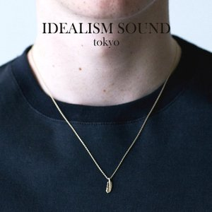 idealism sound イデアリズムサウンド SMALL FEATHER NECKLACE K10YG スモールフェザー ネックレス K10イエローゴールド|charger