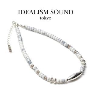 IDEALISM SOUND イデアリズムサウンド Magnesite Silver Anklet マグネサイトシルバー アンクレット|charger