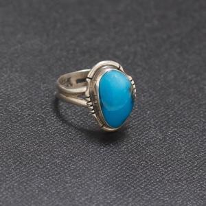 インディアンジュエリー   ターコイズ Stone Ring リング  Silver|charger