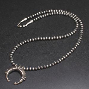 インディアンジュエリー naja Necklace シルバー ビーズ ネックレス Silver|charger