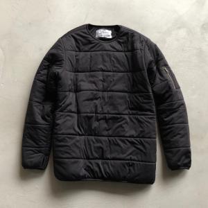 バービンユニフォーム ストレッチ中綿プルオーバー ブラック Birvin Uniform Strech Padding Pullover BLACK 2018秋冬新作 charger