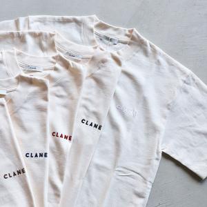 CLANE 即日発送 Tシャツ クラネ ロゴS/S Tシャツ LOGO S/S TEE 5色展開 2020秋冬新作 charger