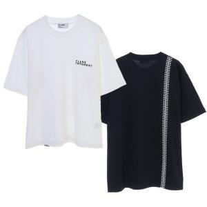 CLANE× FRAGMENT Tシャツ クラネ×フラグメント コラボグラフィックTシャツ COLLABORATION TEE ブラック/ ホワイト 2色展開 2020秋冬新作 charger