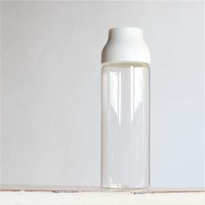 キントー KINTO 耐熱ガラス ボトル オシャレ CAPSULE ウォーターカラフェ 1L ホワイト charger