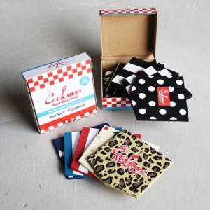 COOKMAN キッチン コースター おしゃれ クックマン ポケットコースター Pocket Coaster モノクロ/ マルチカラー 5枚1セット 2色展開 charger