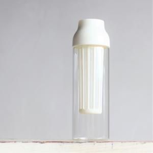 キントー KINTO 耐熱ガラス ボトル オシャレ CAPSULE コールドブリューカラフェ 1L ホワイト charger