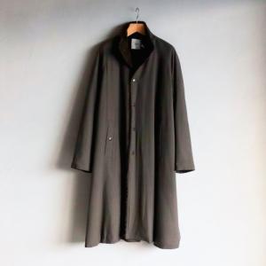 SALE 30%OFF CLANE HOMME コート クラネオム ロングコート STAND COLLAR LONG COAT カーキ KHAKI 2020秋冬新作|charger