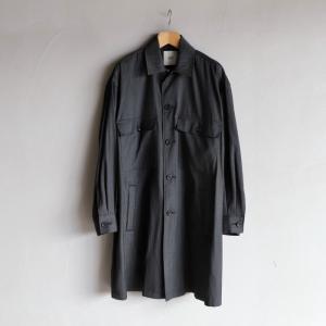 SALE 30%OFF CLANE HOMME コート クラネオム スタンドカラーコート STAND FALL COLLAR COAT ブラック BLACK 2020秋冬新作|charger