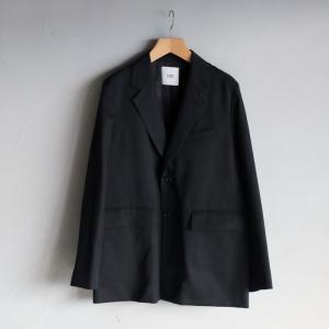 SALE 30%OFF CLANE HOMME ジャケット クラネオム ウール2Bジャケット WOOL 2B JACKET ブラック BLACK 2020秋冬新作|charger