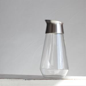 キントー KINTO 耐熱ガラス ボトル オシャレ LUCE ウォーターカラフェ 750ml|charger