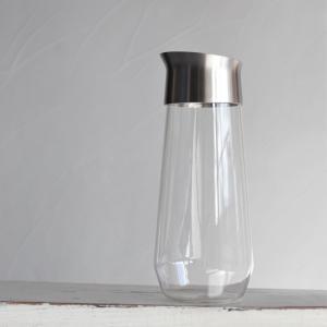 キントー KINTO 耐熱ガラス ボトル オシャレ LUCE ウォーターカラフェ 1L|charger