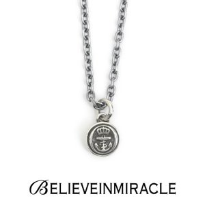 BELIEVEINMIRACLE,ビリーブインミラクル,BUTTON NECKLACE,ボタンネックレス,Silver925,通販取扱い|charger