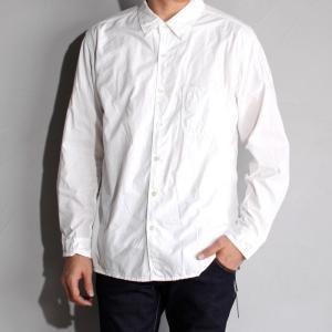 SALE 40%OFF サージュデクレ シャツ SAGE DE CRET タイプライター レギュラーシャツ OFF WHITE オフホワイト 2019春夏新作|charger