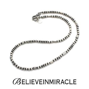 BELIEVEINMIRACLE,ビリーブインミラクル,SILVER BZ NECKLACE,シルバービーズショートネックレス,ブレスレット,2WAY,silver 925,MIXモチーフ,通販|charger