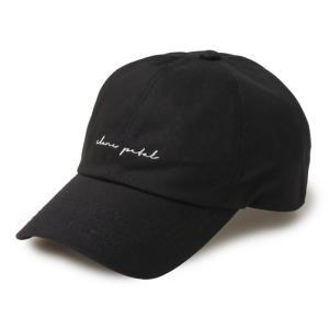 CLANE PETAL クラネペタル CLANE PETAL CAP ベースボールキャップ クラネペタルキャップ ブラック charger