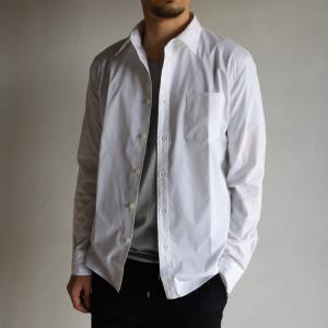 wjk シャツ ダブルジェイケイ ブロード レギュラー シャツ ホワイト broad regular shirt White 2019春夏新作 charger
