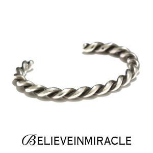 BELIEVE IN MIRACLE ビリーブインミラクル TWIST BANGLE SILVER925 ツイスト バングル シルバー ブレスレット|charger