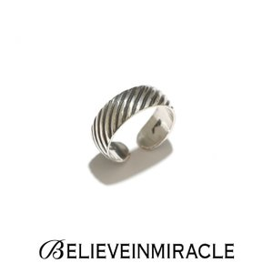 BELIEVE IN MIRACLE ビリーブインミラクル SLASH RING SILVER925 スラッシュ リング シルバー 指輪|charger