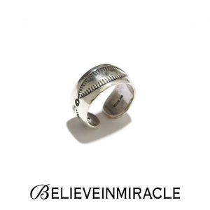 BELIEVE IN MIRACLE ビリーブインミラクル ROUND RING LEAF SILVER925 ラウンド リング リーフ シルバー 指輪|charger