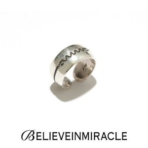 BELIEVE IN MIRACLE ビリーブインミラクル ROUND RING HEART RATE SILVER925  ラウンドリング ハートレート シルバー 指輪|charger
