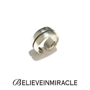 BELIEVE IN MIRACLE ビリーブインミラクル ROUND RING  LINE SILVER925 ラウンドリング ライン シルバー 指輪|charger