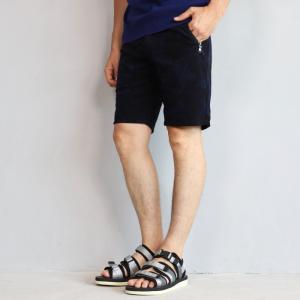 wjk ショーツ ダブルジェイケイ ゴルファーズ ショーツ ネイビー トップ カモフラ golfer's shorts navy top camo 2019春夏新作 charger