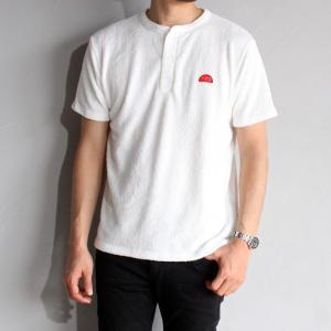 SALE 30%OFF テス ザエンドレスサマー Tシャツ TES THE ENDLESS SUMMER パイル ヘンリーネック ショートスリーブ ホワイト PILE HENLEY SS WHITE 2019春夏新作|charger