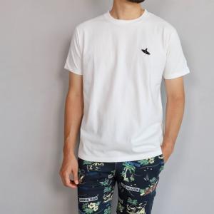 テス ザエンドレスサマー Tシャツ TES THE ENDLESS SUMMER ベティ ブラック刺繍 Tシャツ ホワイト SHRED BETTY BLACK EMB TEE WHITE 2019春夏新作|charger