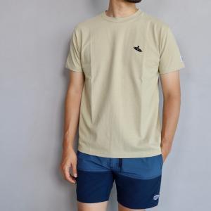 テス ザエンドレスサマー Tシャツ TES THE ENDLESS SUMMER ベティ ブラック刺繍 Tシャツ ベージュ SHRED BETTY BLACK EMB TEE BEIGE 2019春夏新作|charger
