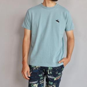 テス ザエンドレスサマー Tシャツ TES THE ENDLESS SUMMER ベティ ブラック刺繍 Tシャツ サックス SHRED BETTY BLACK EMB TEE SAX 2019春夏新作|charger