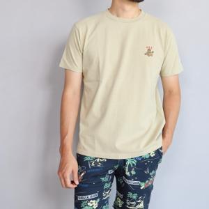 テス ザエンドレスサマー Tシャツ TES THE ENDLESS SUMMER クレイジー ベア Tシャツ ベージュ CRAZY BEAR TEE BEIGE 2019春夏新作|charger