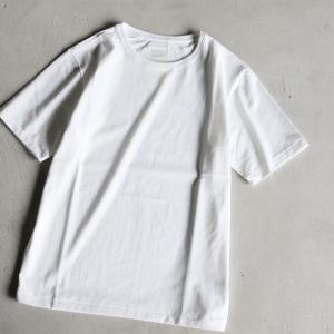 クロ カットソー KURO クルーネック Tシャツ PARALLELED YARN HIGH GAUGE CREW NECK TEE オフホワイト 2019春夏新作|charger